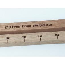 Rigana Wooden Dipstick 210L DRUM