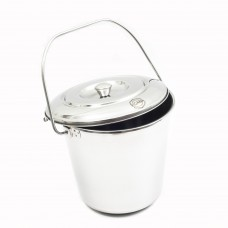 Bucket S/S 12 L with Lid